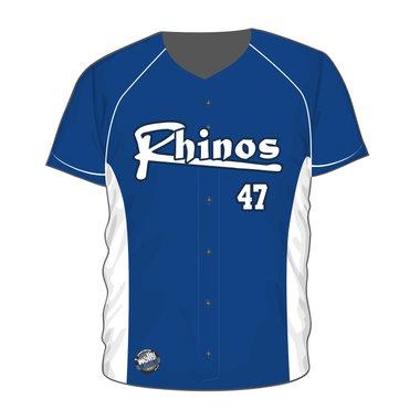 Arnhem Rhinos Full Button Jersey