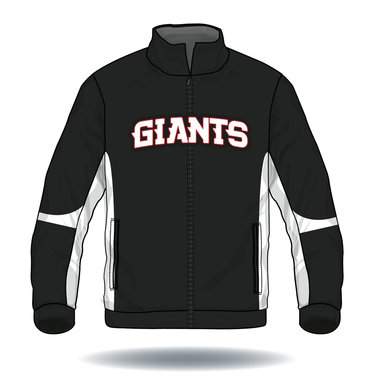 Giants Full Button Jersey
