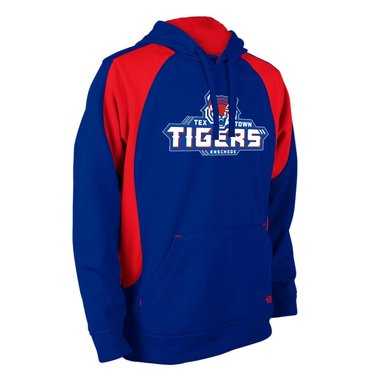 Tex Town Tigers Hoodie Royal/Red