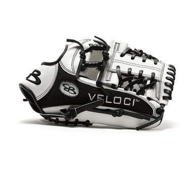 Boombah Veloci GR Series Mesh-Back Slowpitch Fielding Glove B15 Laced I-Web