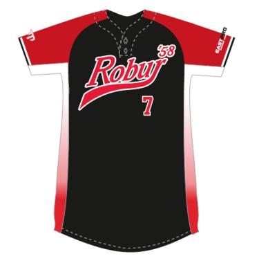 Robur Softball Jersey (Zwart)