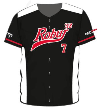Robur '58 Full Button Baseball Jersey