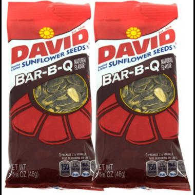 David Sunflower Seeds BBQ 46gr.