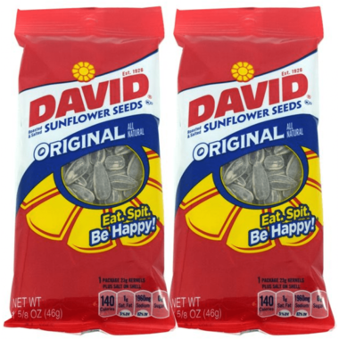 David Sunflower Seeds Original 46gr.